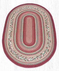 OP-390 Cranberries Oval Rug