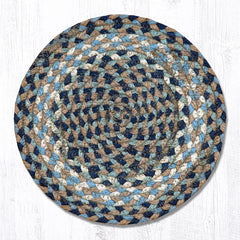 MS-005 Blue/Natural Miniature Trivet