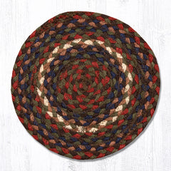 MS-040 Burgundy/Gray Miniature Trivet