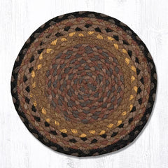 MS-099 Brown/Black/Charcoal Miniature Trivet