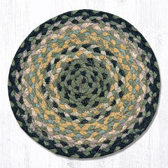 MS-116 Black/Mustard/Cream Miniature Trivet
