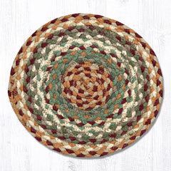 MS-413 Buttermilk/Cranberry Miniature Trivet