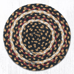 MS-774 Burgundy/Black/Dijon Miniature Trivet