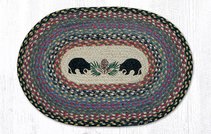"PM-OP-043 Black Bears Placemat 13""x19"""