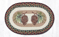 "PM-OP-081 Pinecone Placemat 13""x19"""