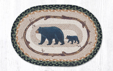 PM-OP-116 Mama and Baby Bear Placemat