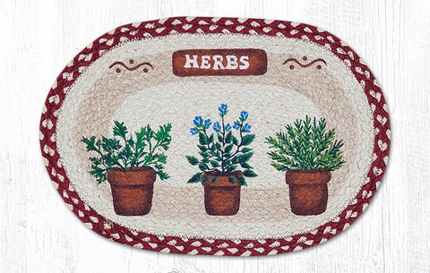 PM-OP-524 Herbs Placemat 13