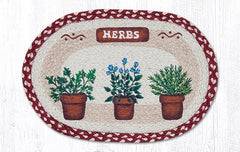 PM-OP-524 Herbs Placemat