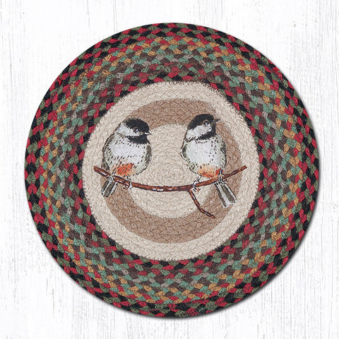 CH-081 Chickadee Printed Chair Pad