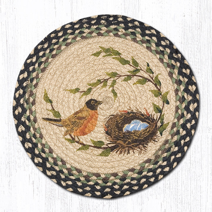 CH-121 Robins Nest Printed Chair Pad