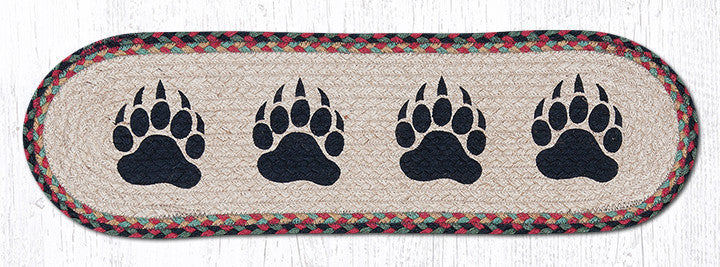 ST-OP-081 Bear Paw Printed Stair Tread
