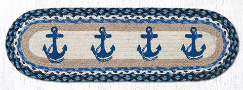 ST-OP-443 Navy Anchor Stair Tread