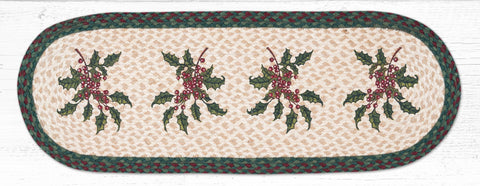 TR-508 Holly Oval Table Runner