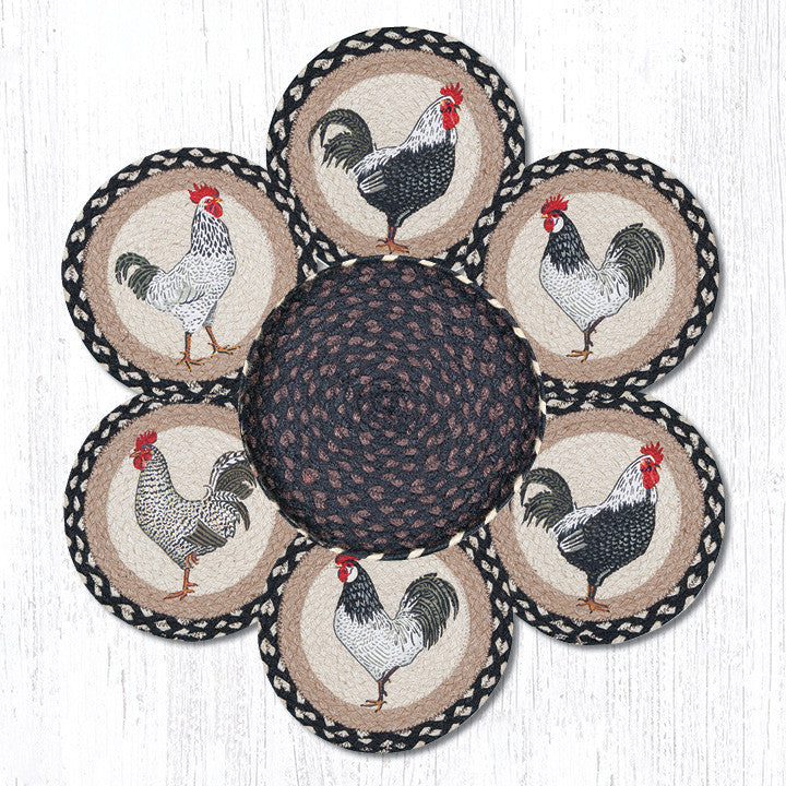 TNB-430 Roosters Trivets