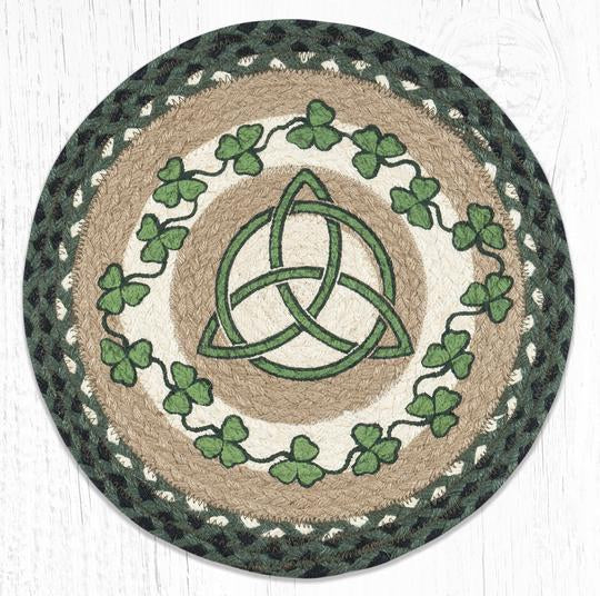 PM-RP-605 Irish Shamrock Round Placemat