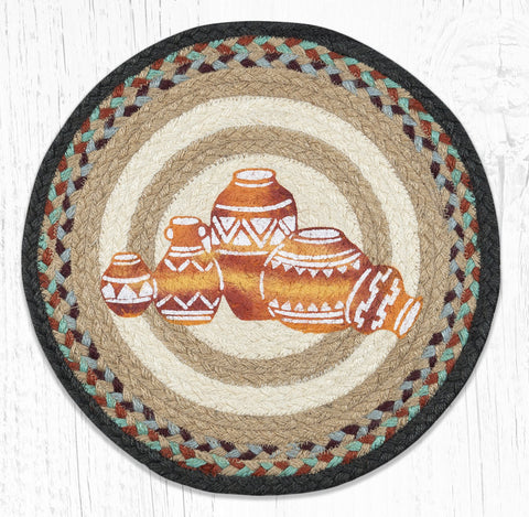 PM-RP-782 Pottery Round Placemat