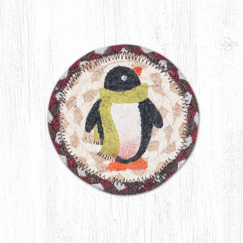 IC-587 Penguin Individual Coaster