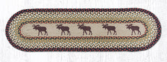TR-019 Moose Oval Table Runner