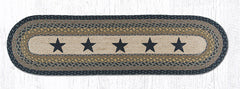 OP-099 Black Stars Oval Runner