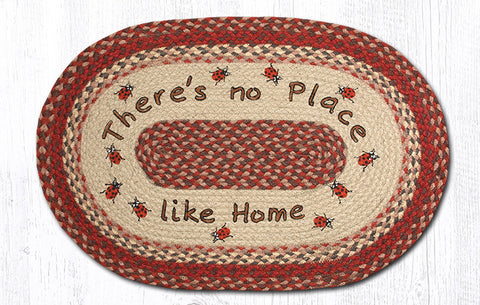 OP-012 No Place Like Home Oval Rug