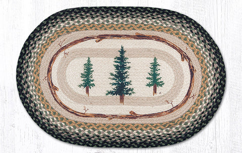 OP-116 Tall Timbers Oval Rug
