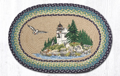 OP-311 Bass Harbor Oval Rug
