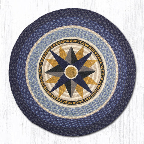 RP-350 Compass Round Rug