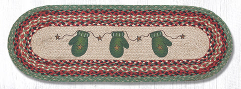 TR-252 Mittens Oval Table Runner