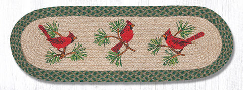 TR-365 Cardinals Oval Table Runner
