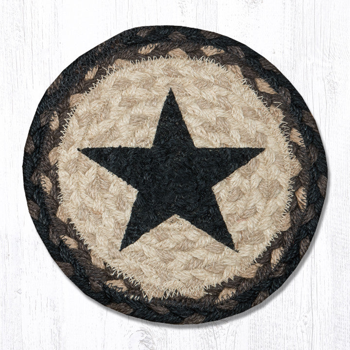 MSPR-313 Black Star Printed Trivet