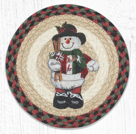 MSPR-081 Snowman in Top Hat Trivet
