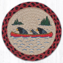 MSPR-396 Bears in Canoe Trivet