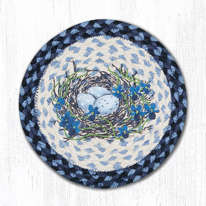 MSPR-541 Blue Bird's Nest Trivet