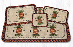 WW-375 Pineapple Wicker Weave Table Accents