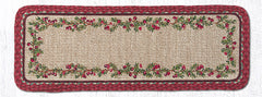 WW-390 Cranberries Wicker Weave Table Accents
