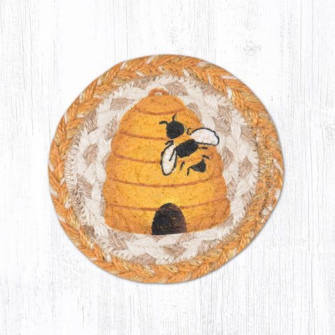 IC-9-101 Bee Hive Individual Coaster