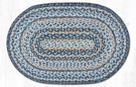 C-9-119 Denim Braided Rug