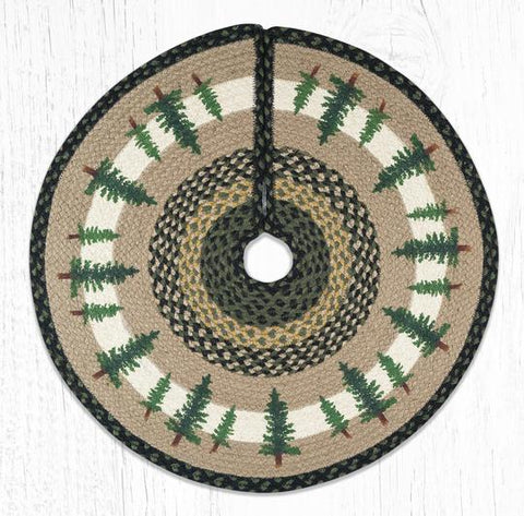 TSP-116 Tall Timbers Printed Tree Skirt Round 30