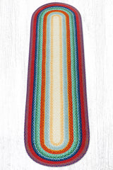 C-400 Rainbow Braided Rug