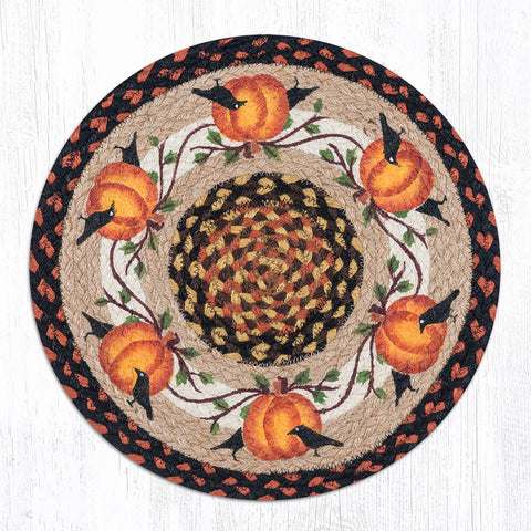 CH-222 Pumpkin Crow Chair Pad