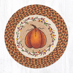 CH-222 Harvest Pumpkin Chair Pad