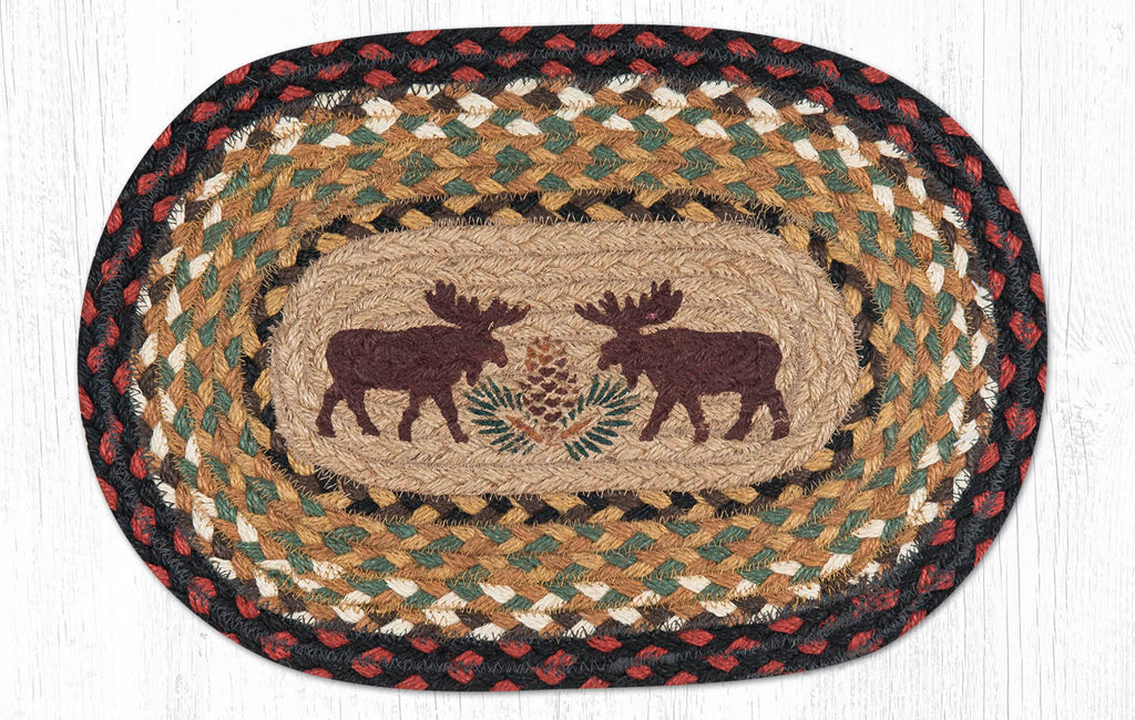 "MSP-019 Moose/Pinecone Swatch 10""x15"""