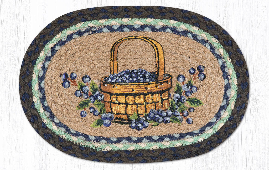 "MSP-312 Blueberry Basket Swatch 10""x15"""