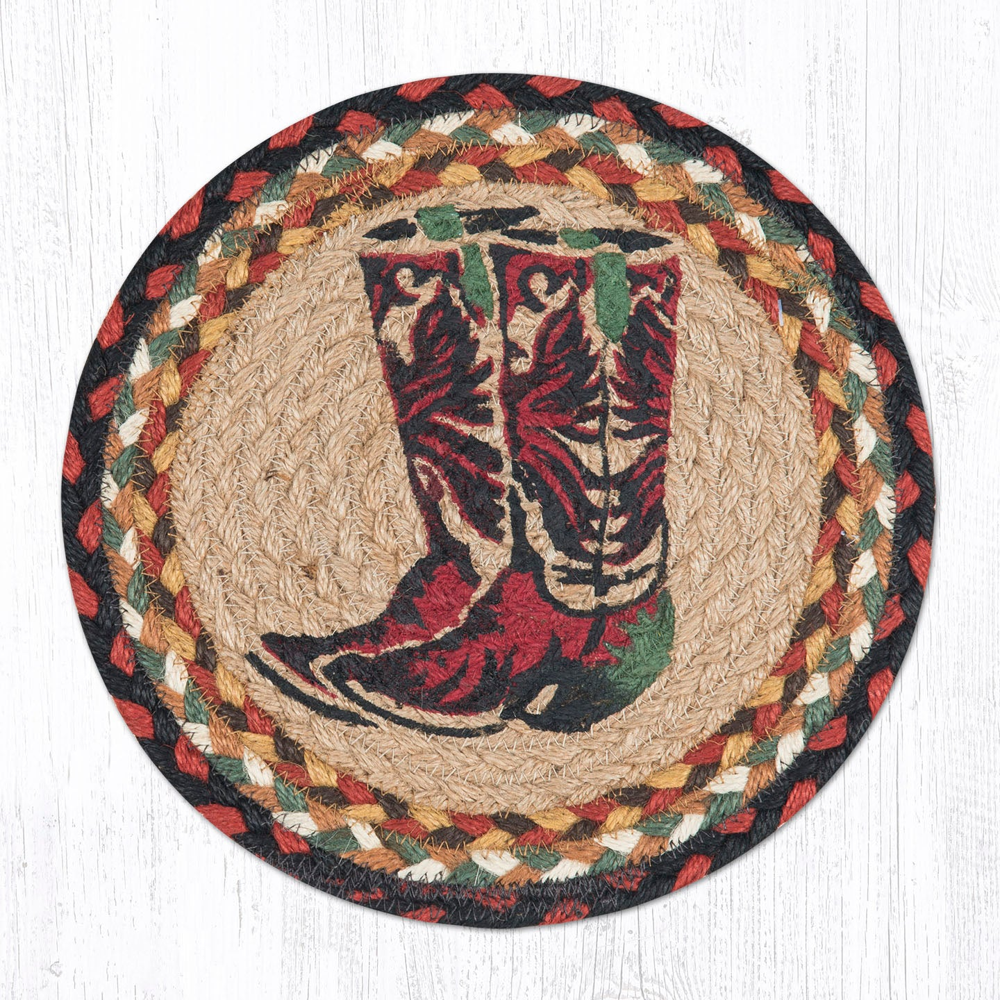 Mspr 019 Boots Trivet The Braided Rug Place