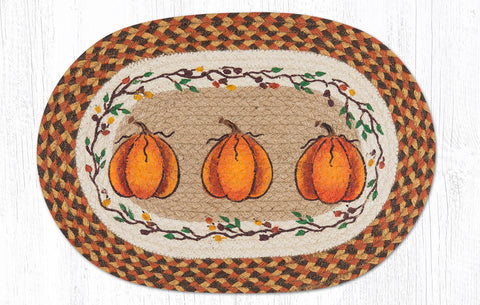 PM-OP-222 Harvest Pumpkin Placemat 13