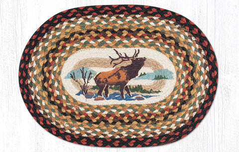 PM-OP-319 Winter Elk Placemat 13