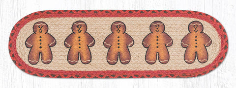 ST-OP-111 Gingerbread Men Stair Tread