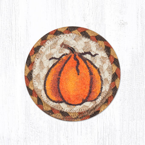 IC-222 Harvest Pumpkin Individual Coaster