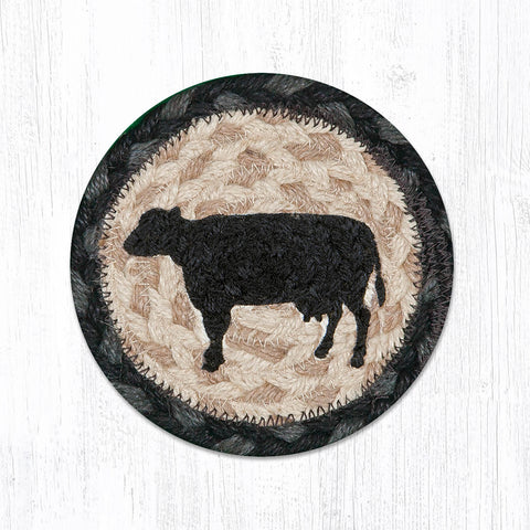 IC-459 Cow Silhouette Individual Coaster