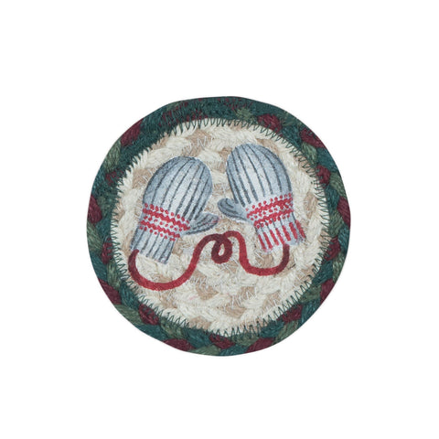IC-508 Winter Mittens Individual Coaster